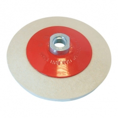 Silverline 105864 Bevelled Felt Buffing Wheel 115mm