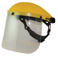 Silverline 140863 Face Shield & Visor Clear