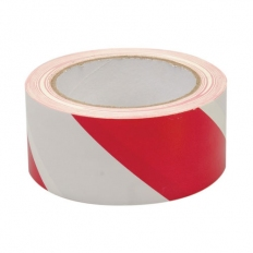 Fixman 188781 Hazard Tape 50mm x 33m Red/White