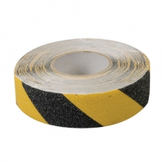 Fixman 190583 Anti-Slip Tape 50mm x 18m Black/Yellow