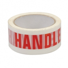 Fixman 191975 Packing Tape 'Handle With Care' 48mm x 66m