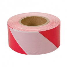 Fixman 194216 Barrier Tape 70mm x 500m Red/White