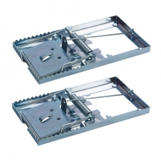 Fixman 197115 Metal Mouse Trap 2pk 115 x 60mm