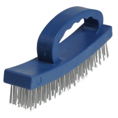 Silverline 250554 D-Handle Wire Brush 4 Row