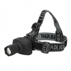 Silverline 250734 LED Head Torch 1W