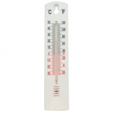 Task 279605 Indoor/Outdoor Stick-On Thermometer -40 Deg. to +50 Deg.C