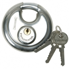 Silverline 292707 Disc Padlock 70mm