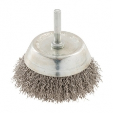 Silverline 409596 Rotary Stainless Steel Wire Cup Brush 75mm
