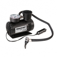 Silverline 425689 Mini Air Compressor 12V DC