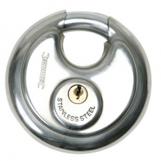 Silverline 436750 Disc Padlock 90mm