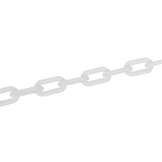 Fixman 568185 Plastic Chain White 6mm x 5m