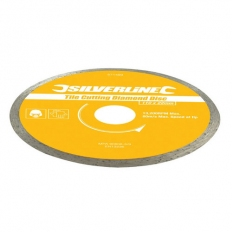 Silverline 571499 Tile Cutting Diamond Disc 110 x 22.2mm