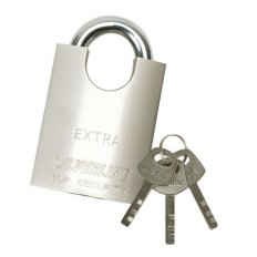 Silverline 595756 Shrouded Padlock 40mm