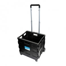 Silverline 633400 Folding Box Trolley 25kg