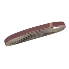 Silverline 636004 Sanding Belts 13 x 457mm 5pk 120 Grit