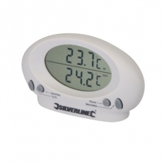 Silverline 675133 Indoor/Outdoor Thermometer -50°C to +70°C