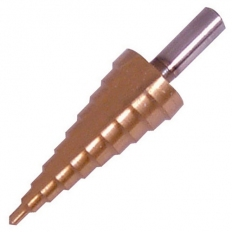 Silverline 698459 Titanium-Coated Step Drill 4-22mm