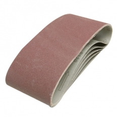 Silverline 730880 Sanding Belts 100 x 610mm 5pk 40 Grit
