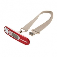 Silverline 745058 Digital Luggage Scales 50kg / 110lb