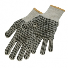 Silverline 783131 Double-Sided Dot Gloves One Size