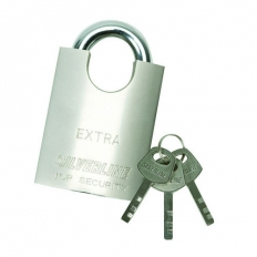 Silverline 801285 Shrouded Padlock 60mm