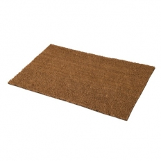 Fixman 808267 PVC Back-Tufted Plain Natural Mat 450 x 750mm
