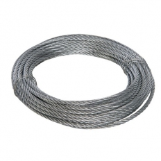 Fixman 858237 Galvanised Wire Rope 6mm x 10m