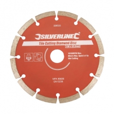 Silverline 868619 Concrete & Stone Cutting Diamond Blade 150 x 22.2mm