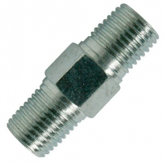 "Silverline 868632 Air Line Equal Union Connector 6mm (1/4"") BSPT"