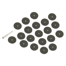 Silverline 868702 Cutting Discs Kit 36pce 22mm
