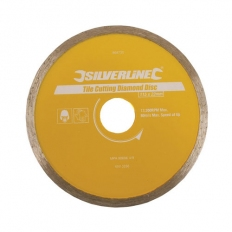 Silverline 868730 Tile Cutting Diamond Disc 115 x 22.2mm