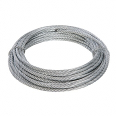 Fixman 876416 Galvanised Wire Rope 4mm x 10m