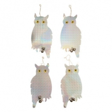 Fixman 894736 Bird Repellent Owls 4pk 200 x 410mm