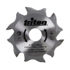 Triton 899068 Biscuit Jointer Blade 100mm TBJC Replacement Blade