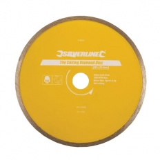 Silverline 918528 Tile Cutting Diamond Disc 200 x 25.4mm