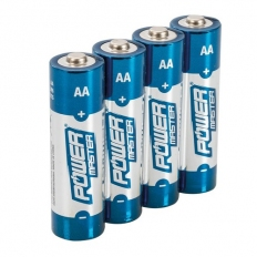 Powermaster 992118 AA Super Alkaline Battery LR6 4pk