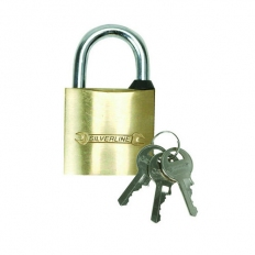 Silverline MSS02 Brass Padlock 32mm