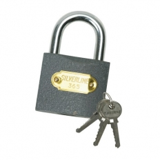 Silverline MSS03I Iron Padlock 38mm
