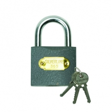 Silverline MSS05I Iron Padlock 63mm