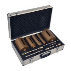 Spectrum MBD5 TRADE 5 Piece Diamond Core Drill Set In Robust Case