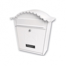 Sterling MB01 Classic Post Box White