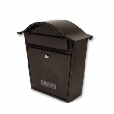 Sterling MB01BK Classic Post Box Black