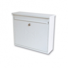 Sterling MB02 Elegance Post Box Square White