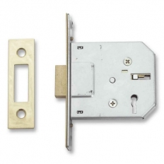 Sterling MLD330 Mortice Dead Lock 3 Lever Brass 3""