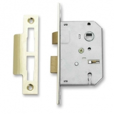 Sterling MLS325 Mortice Sash Lock 3 Lever Brass 2.5""