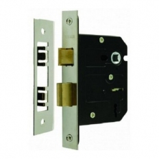 Sterling MLS325N Mortice Sash Lock 3 Lever Nickel 2.5""