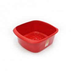 TML THW20-R Washing Up Bowel Rectangular Red 11 Litre
