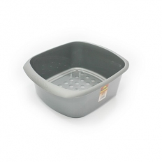 TML THW20-S Washing Up Bowel Rectangular Silver 11 Litre
