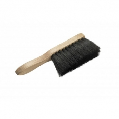 Black Coco Hand Bannister Brush Soft Bristle