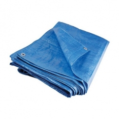 Blue Tarpaulin 18ft x 12ft 80gsm